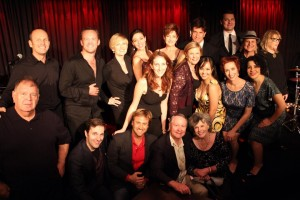 The company of Classic Broadway Sings Schwartz