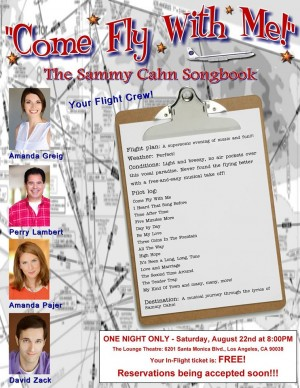 Come Fly With Me – The Sammy Cahn Songbook